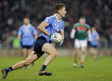Mick Fitzsimons was sent-off for Dublin against Mayo.
