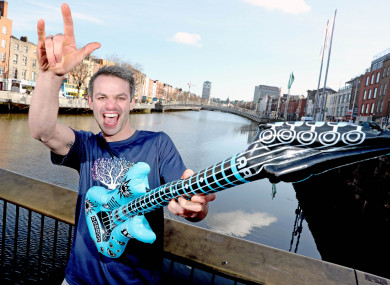Barr promoting the 2018 Affidea Rock 'n' Roll Dublin Half Marathon, which takes place in Dublin on 12 August.