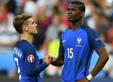 35acfcafc griezmann would love to play with pogba every day but that doesn