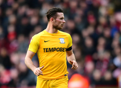 Alan Browne has impressed for Preston of late.