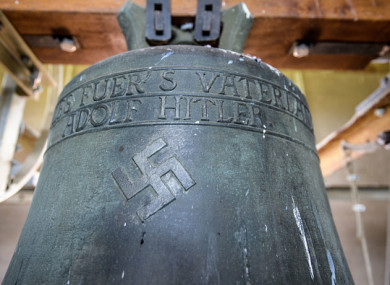 A similar bell in the town of Herxheim.