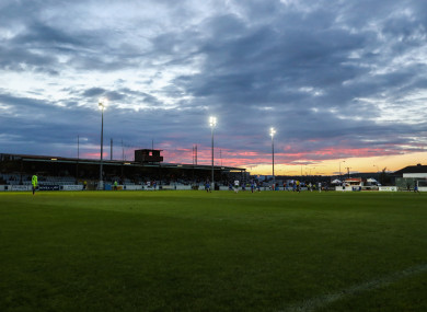 Drogheda's stadium United Park (file photo).