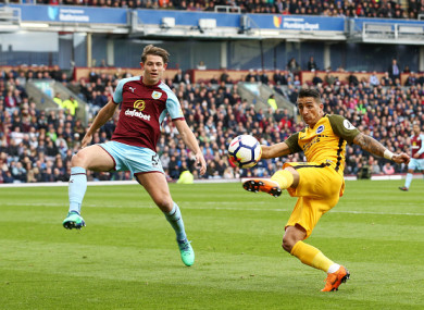 It was a vital point for Burnley and Brighton at Turf Moor on Saturday.
