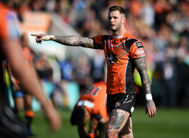Hardaker was sacked by Castleford in February.
