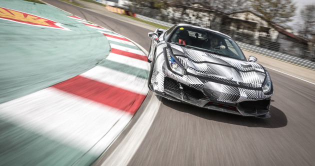 Here's what it's like to test-drive the Ferrari 488 Pista supercar - months before its launch