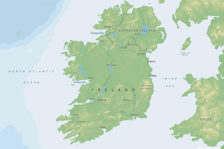 Map Of Ireland With Towns And Counties.Ireland S County Mottos Have Been Revealed And Some Of Them Are Gas