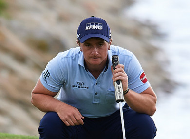 Dunne was unable to hold onto his slender lead yesterday.