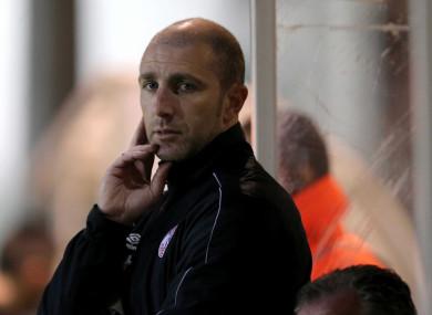 Shels boss Owen Heary.