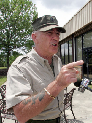 Ermey pictured in 2006.