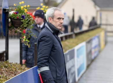 Walsh pictured at Fairyhouse recently.