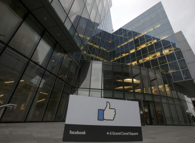Facebook European HQ in Dublin's Docklands.