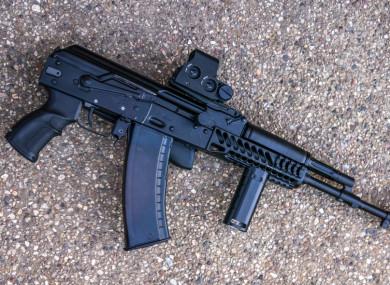 Submachine gun and four handguns found in backpack in Dublin