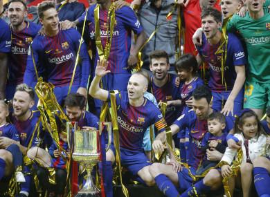ce9adfae667 Barca hammer Sevilla to win 30th Copa del Rey · The42