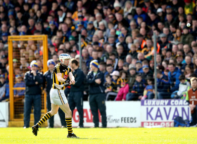 TJ Reid scored 0-15 in Kilkenny's league final triumph last Sunday.