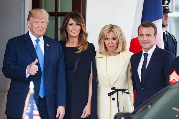 16 Of The Funniest Tweets That Sum Up Macron S Trip To The White House