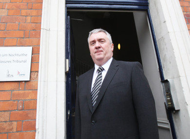 David Taylor was talking about the alleged smear campaign against Maurice McCabe yesterday.