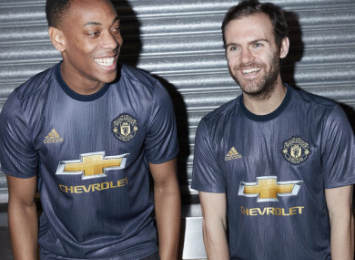 d15a3ec486b Man United unveil retro third kit for next season · The42