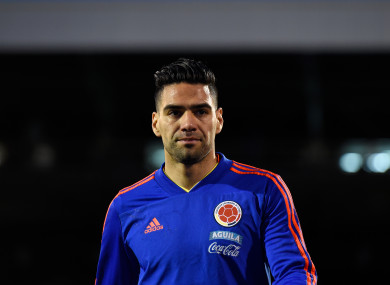 Radamel Falcao (file pic).
