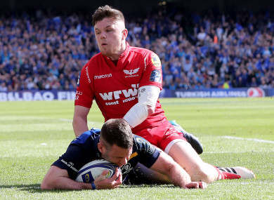 McFadden sustained the injury against Scarlets.