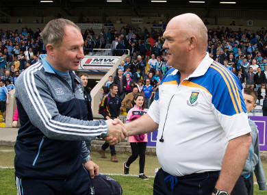 Dublin defeated Wicklow by a scoreline of 4-25 to 1-11 in Portlaoise on Sunday.