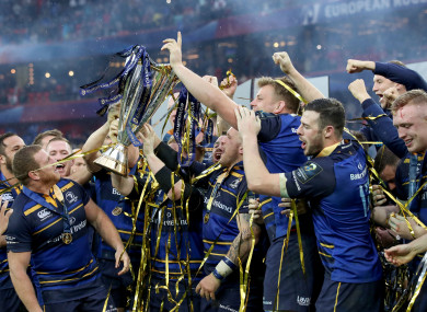 The celebrations will continue at Donnybrook tomorrow.