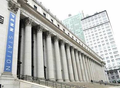 Penn Station is one of New York's busiest buildings.