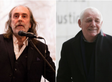 Water (l) and Dunphy (r).