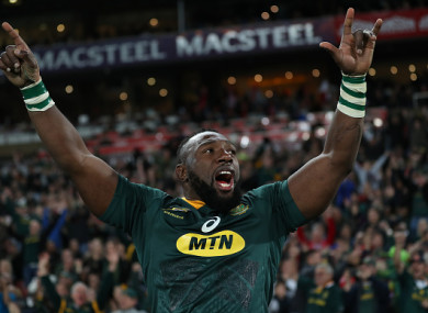 Mtawarira has been named in South Africa's team for Saturday.