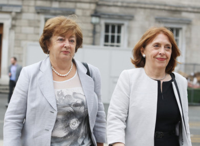 File photo: Róisín Shortall and Catherine Murphy