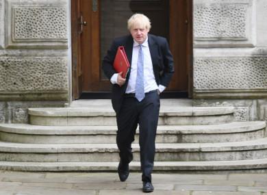 Boris Johnson on Northern Ireland: 'It's beyond belief ...