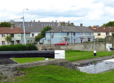 The Suir Road locks on Dublin's Grand Canal.