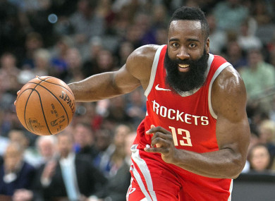dbe47d294a06 James Harden beats LeBron to scoop first career NBA MVP award · The42