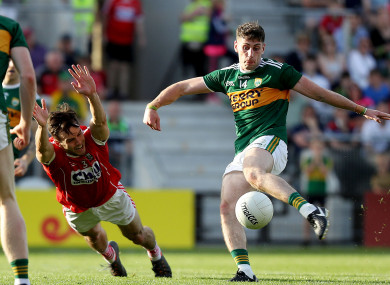 Paul Geaney fires home a goal for Kerry in the second half.