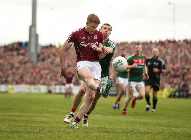 Ciaran Duggan was man-of-the-match for Galway against Mayo.