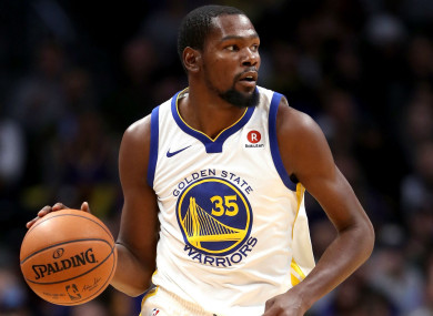 17de31c60737 Warriors to offer Durant  whatever he wants  to keep NBA champions ...