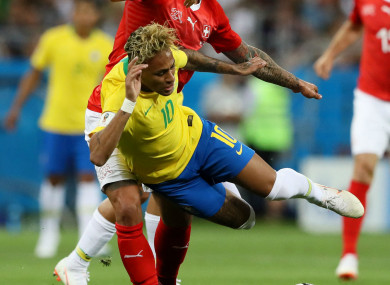 1c306e537 Neymar won t need to worry about  unfair attacks