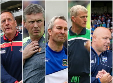 Cork, Clare and Limerick are the three Munster sides still left in the hurling championship.