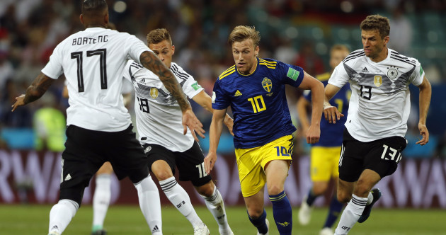 As it happened: Germany v Sweden, World Cup 2018, Group G