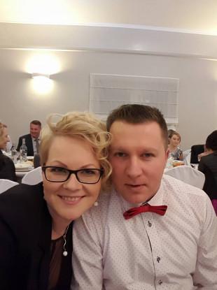 """Mikolaj """"Nick"""" Wilk with his wife Elzbieta."""