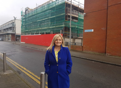Councillor Noeleen Reilly had expressed concern this week that the new building may not be ready for students by September.