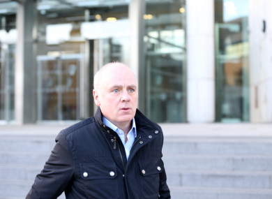 Drumm is already serving time in Mountjoy after he was found guilty on separate charges.