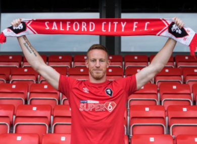 Irish striker Adam Rooney recently joined Salford City, after four and a half years with Aberdeen.