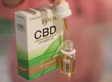 CBD products on sale in Belfast.