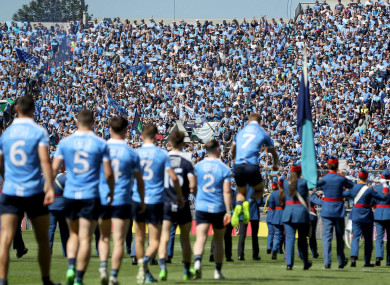 Leinster champions Dublin take on Donegal on Saturday evening in Croke Park.