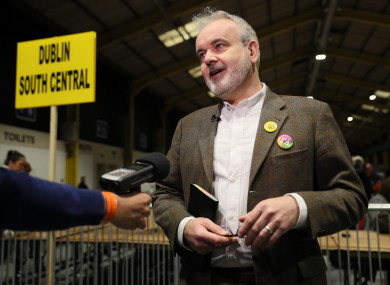 Executive director of Amnesty International Ireland Colm O'Gorman after the referendum result.