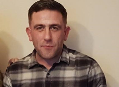 The trial heard Neil Reilly, pictured above, sustained a number of stab wounds before being run over.