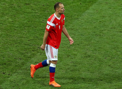 Russia defender Sergei Ignashevich, who has retired from football.