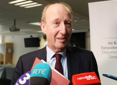 Transport Minister Shane Ross says BusConnects will cause pain to some but the plan is in the national interest.