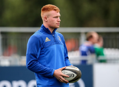 Frawley will miss the first few weeks of the Pro14 season.