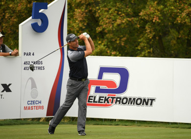 Harrington is back in action on the European Tour this week.